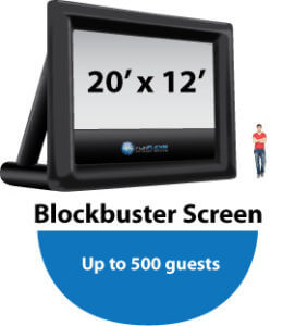 Blockbuster20x12-Outdoor Movie Inflatable
