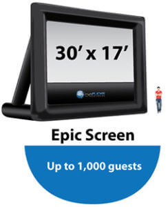 Epic30x17-Outdoor Movie Inflatable
